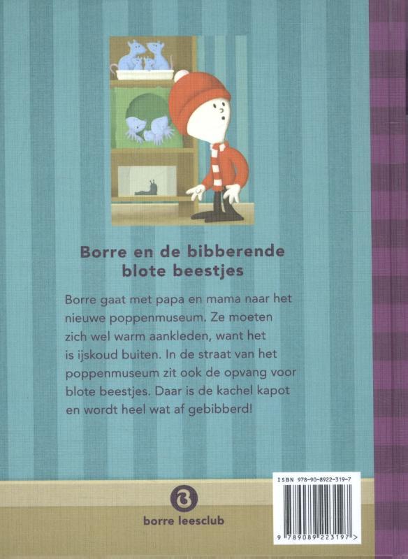 Jeroen Aalbers,Borre en de bibberende blote beestjes