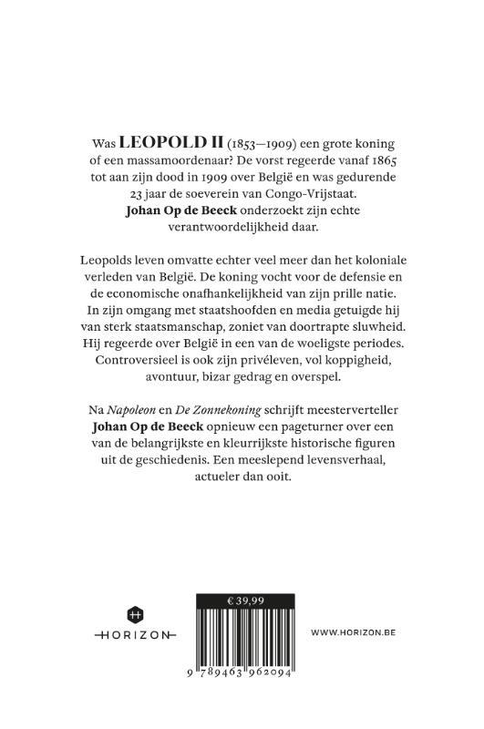 Johan Op de Beeck,Leopold II