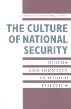Katzenstein, Peter Culture of National Security