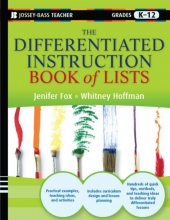 Jenifer Fox,   Whitney Hoffman The Differentiated Instruction Book of Lists