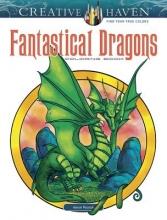 Aaron Pocock Creative Haven Fantastical Dragons Coloring Book
