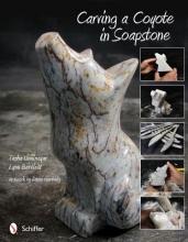 Tasha Unninayar Carving a Coyote in Soapstone