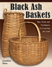Jonathan Kline Black Ash Baskets