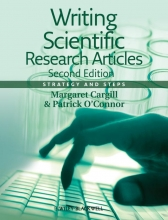 Margaret Cargill,   Patrick O`Connor Writing Scientific Research Articles