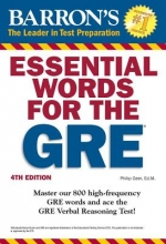 Geer, Phillip Barron`s Essential Words for the GRE