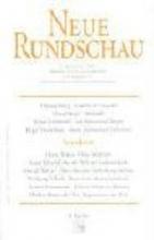Neue Rundschau 2004/4