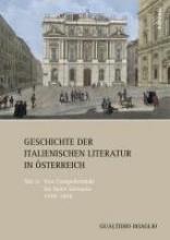 Boaglio, Gualtiero Geschichte der italienischen Literatur in Österreich Teil 2