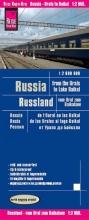 , Reise Know-How Landkarte Russland - vom Ural zum Baikalsee 1 : 2 000 000