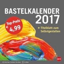 Bastelkalender 2017 klein anthrazit