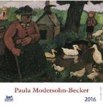 Paula Modersohn-Becker 2016 Postkartenkalender