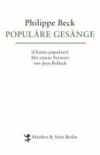 Beck, Philippe Populäre Gesänge