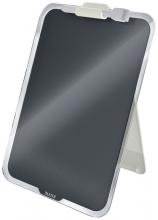 , Glas Desktop Flipover Leitz Cosy grijs