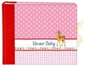 Unser Baby (rosa). Groes Foto-Eintragalbum