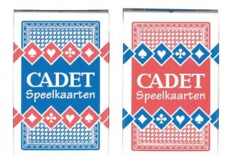 , Speelkaarten Cadet 2 spellen