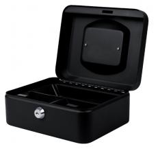 , Geldkist Pavo 200x160x90mm zwart