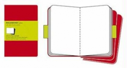 Cahier Xlarge Plain Red Cover