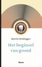 Martin Heidegger , Het beginsel van grond