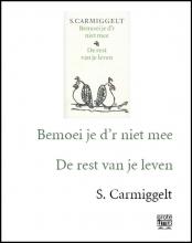 Simon  Carmiggelt Bemoei je d`r niet mee & De rest van je leven (grote letter)-POD editie