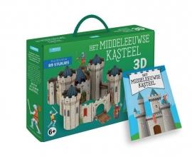 Irena Trevisan , Het middeleeuws kasteel - Boek + 3D-puzzel