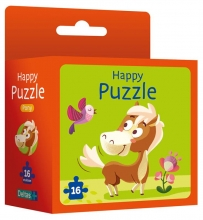 , Happy puzzle - pony