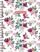 ZNU , Romantic Garden spiraalboek groot (bullet)