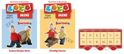 , Loco Mini Buurman & Buurman (doos + 2 boekjes)