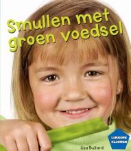 Lisa Bullard Smullen met groen voedsel