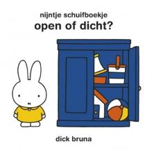 Dick  Bruna Nijntje schuifboekje Open of dicht
