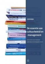 Cor Wijn , De essentie van cultuurbeleid en -management