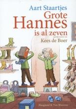 Aart  Staartjes Grote Hannes is al zeven