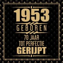 Niek Wigman , 1951 Geboren 70 Jaar Tot Perfectie Gerijpt