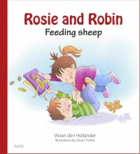 Vivian den Hollander Rosie and Robin Feeding sheep