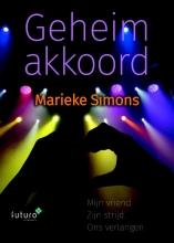 Marieke Simons , Geheim akkoord