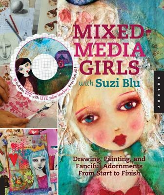 Suzi Blu,Mixed-Media Girls with Suzi Blu