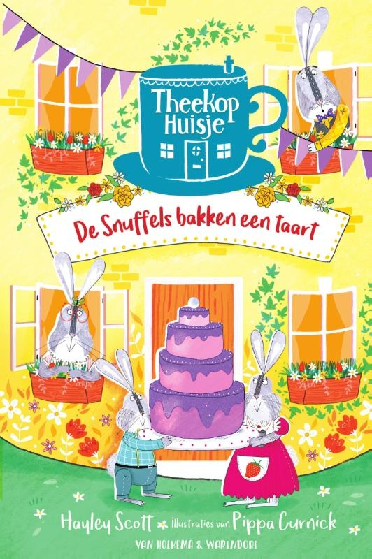 Hayley Scott,De snuffels bakken een taart
