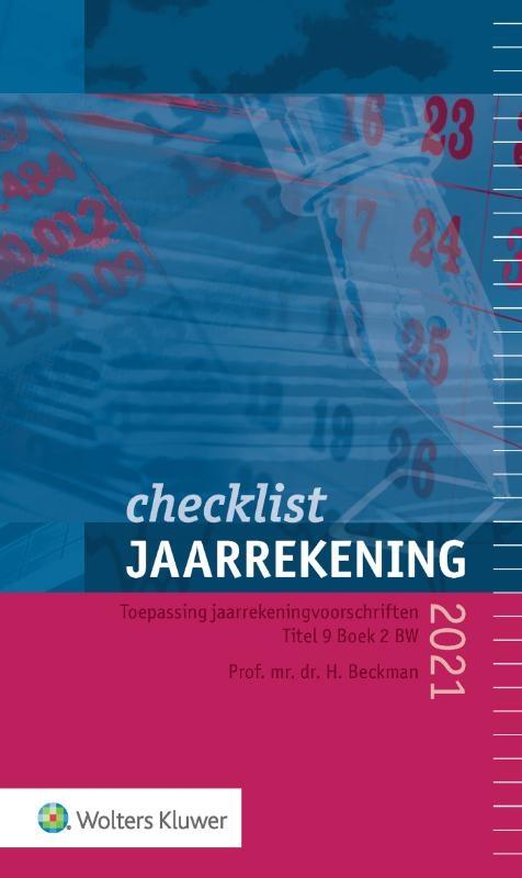,Checklist jaarrekening 2021