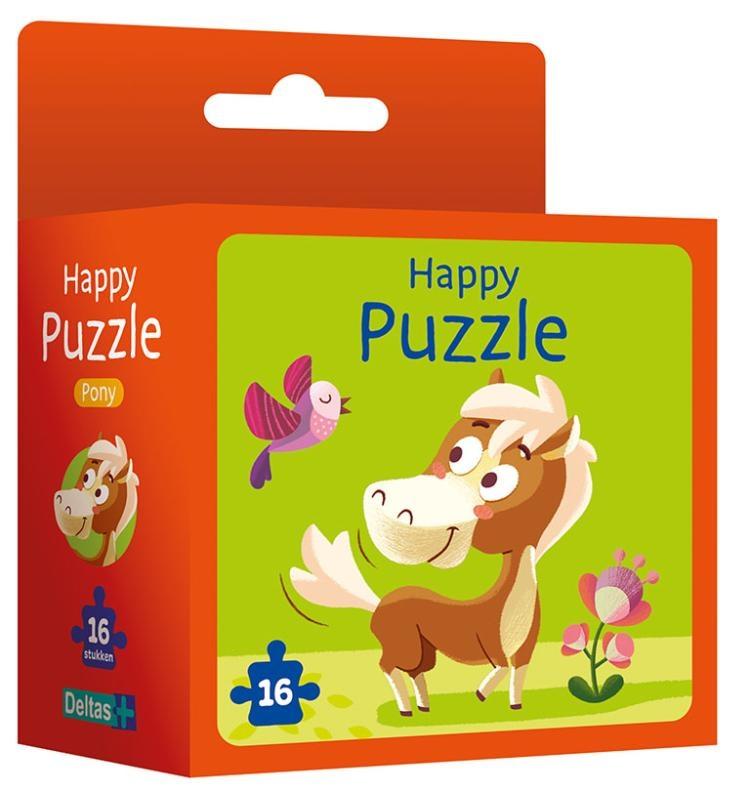,Happy puzzle - pony
