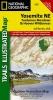National Geographic Maps,Yosemite Ne, Tuolumne Meadows & Hoover Wilderness