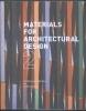 <b>V. Bell</b>,Materials for Architectural Design