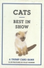 Cats,Best in Show