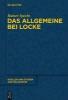 Specht, Rainer,Das Allgemeine bei Locke