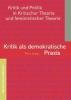 Jung, Tina,Kritik als demokratische Praxis