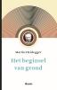 Martin Heidegger,Het beginsel van grond