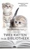 Jan  Louch,Twee katten in de bibliotheek