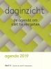 SAAM  Uitgeverij Stichting  Doe Maar Zo,Daginzicht agenda 2019 Deel II