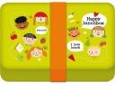 <b>Happy lunchbox</b>,lunchtrommel met recepten boekje