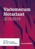 ,<b>Vademecum Notariaat 2018/2019</b>