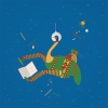 ,Poesiealbum ruimtestruisvogel