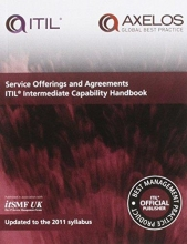 Axelos Service offerings and agreements ITIL 2011 intermediate capability handbook (single copy)