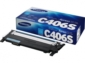 , Tonercartridge Samsung CLT-C406S blauw